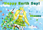 Happy Earth Day! Brush Promotion by hong-hui-lin-shenmu