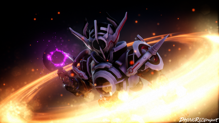 [MMD KAMEN RIDER] The Art of Destruction by DeinosJ48