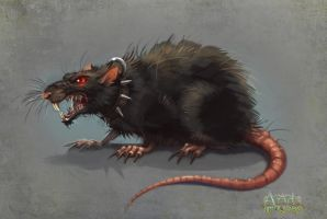 Azada - Evil Rat by Okha
