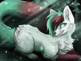 [AT] A light in the dark by Pharaonenfuchs