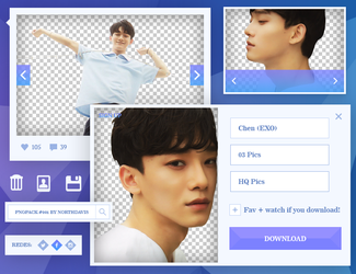 Png Pack #001 // Chen (EXO) by northdavis