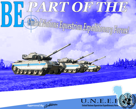 Be Part of the UN Forces! by WorldofTanks