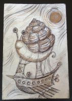 Slow Leaque - air/sea ship by meddevi