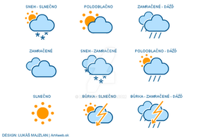 Weather icons by luqa