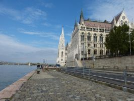 Hungarian Parliament Building I by setanta5