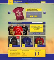 [FREEBIE] Mooroodool Inc. E-commerce PSD Template by HEVNgrafix