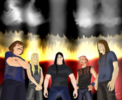 Metalocalypse Final Drawing 06 by andys184