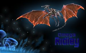 Omega-Ridley Wallpaper by lampenpam
