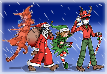 Bloody Holidays! by Saragonvoid