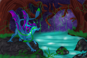 Mystery swamp by SkyBlue71