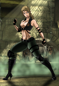 Special Forces: Lt Sonya Blade by mikebloodslaver