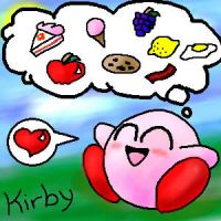 Kirby by ice-kitsune