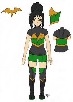 Tentative Nitemare Re-Design by Zephyr-Aryn