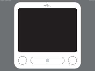 Complex Simplicity: eMac by pakkman781