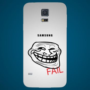 Samsung Galaxy S5 FAIL Back Cover by jawzf
