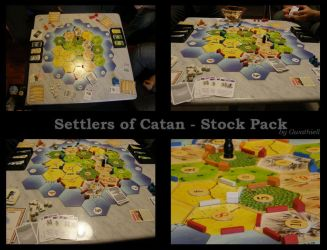 Game 3 Settlers of Catan by Gwathiell