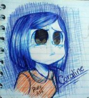 Coraline by Dally-Art