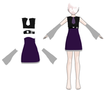 First Outfit   Solved  Bones And Weighting By  by MMD-Nay-PMD