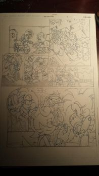 sonic comic origins ant pencils pg4 by trunks24