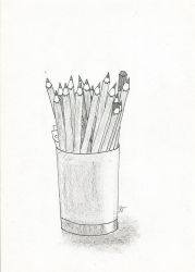 Pens and Pencils by Patricia-T