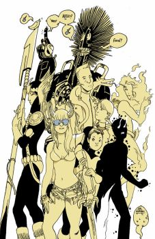 Newmutants by royalboiler