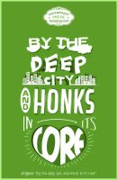 by the deep city and honks in its core by xWoliex