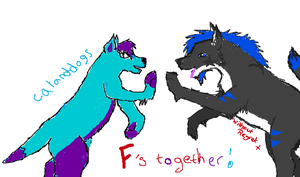 Collab 'f's together!' by catanddogs
