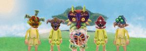 WIP Moon Children Majoras Mask by Brokensoul1987