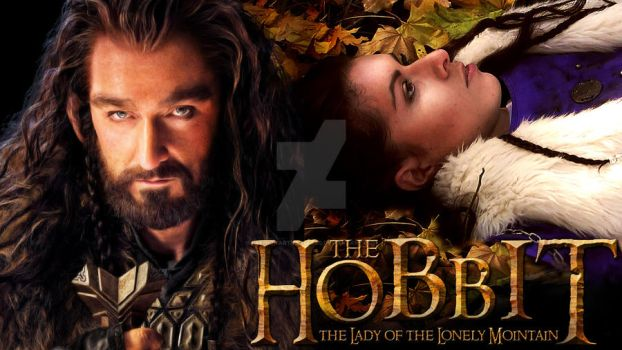 The Hobbit The Lady of the Lonely Mountain by FashionARTventures
