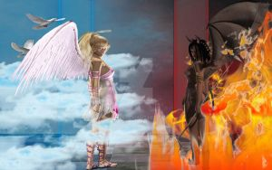 YOUR CHOICE HELL OR HEAVEN by hleon