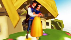 MMD Snow White and Prince Ferdinand by MrMario31095