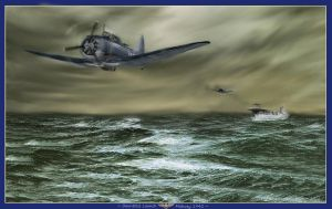 Battle of Midway by zulumike