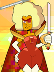 Steven Universe - Hessonite 01 by theEyZmaster