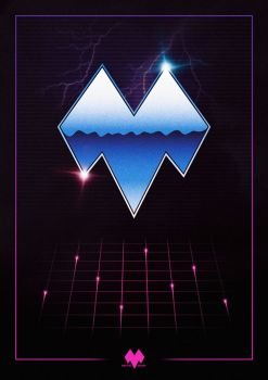 My logo 80's style by Mikatto