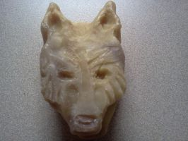 Lupa Soap Carving Side One by LLAP