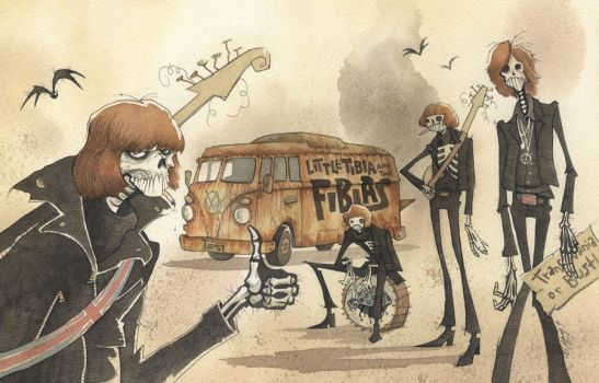 LATE FOR THE MONSTER PARTY 2012 by GrisGrimly