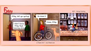 Flitsy | Going Cycling by FlitsArt