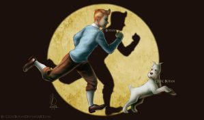 Tintin and Milou by CelticBotan