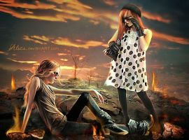 Thelma and Louise by Alosa