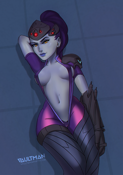 Widowmaker - Overwatch (censored) by VaultMan