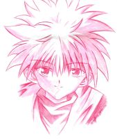 Red Killua by KBladez