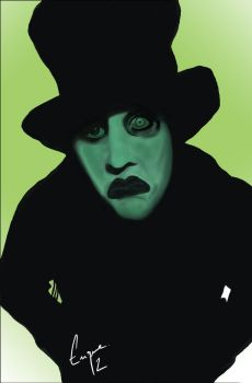 Marilyn Manson by GraficBorges