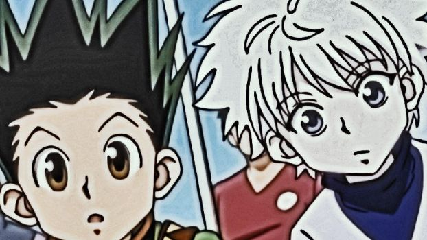 Hunter x hunter Gon by dragonfroid