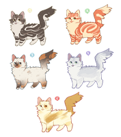 More cat adopts [CLOSED] by chequeri