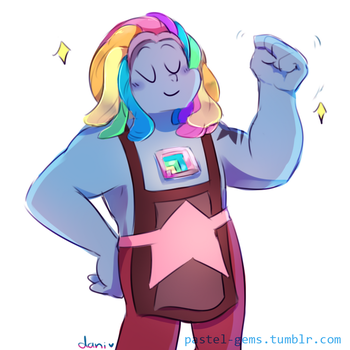 Bismuth -speedpaint- by Milkii-Ways