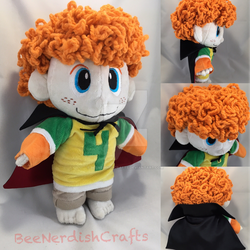 Dennis Custom Plush  by BeeNerdishCrafts
