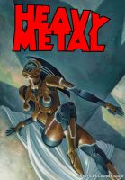Gold Robot Lady Proposed Heavy Metal cover by Zeleznik