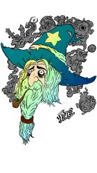Mike the Stoned Wizard by LordBerry