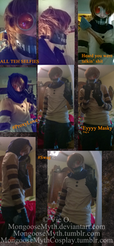 Ticci Toby - Cosplay previewish by RebelMyth
