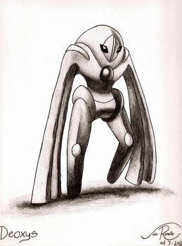 Deoxys - Deffense Form by johnrenelle